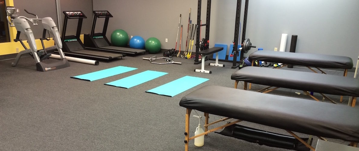 Ann Arbor Training Room with Sports Massage and Corrective Exercise